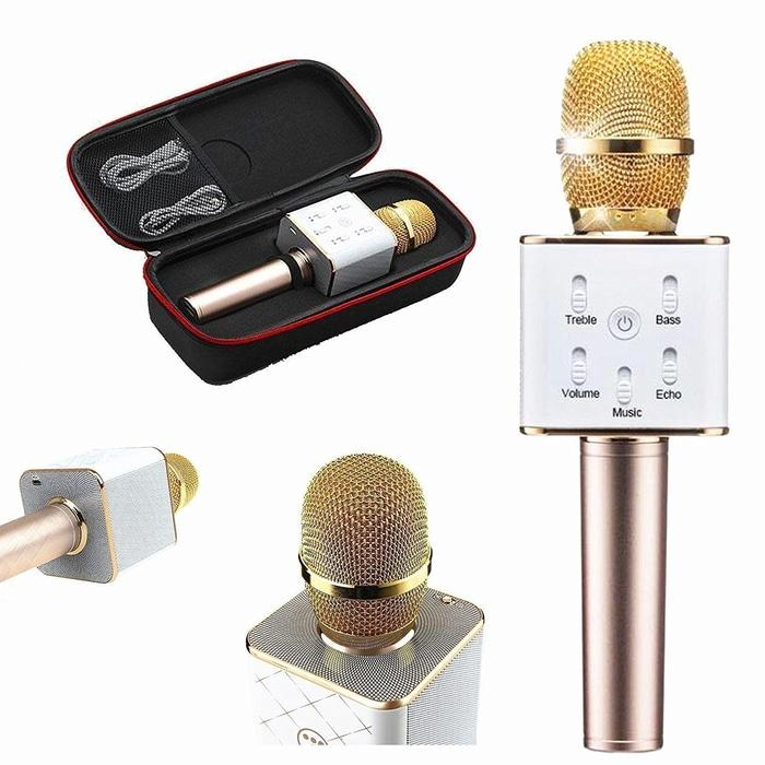 Tuxun Q7 K078 Portable Wireless Karaoke Mic Bluetooth 4.0 - Random