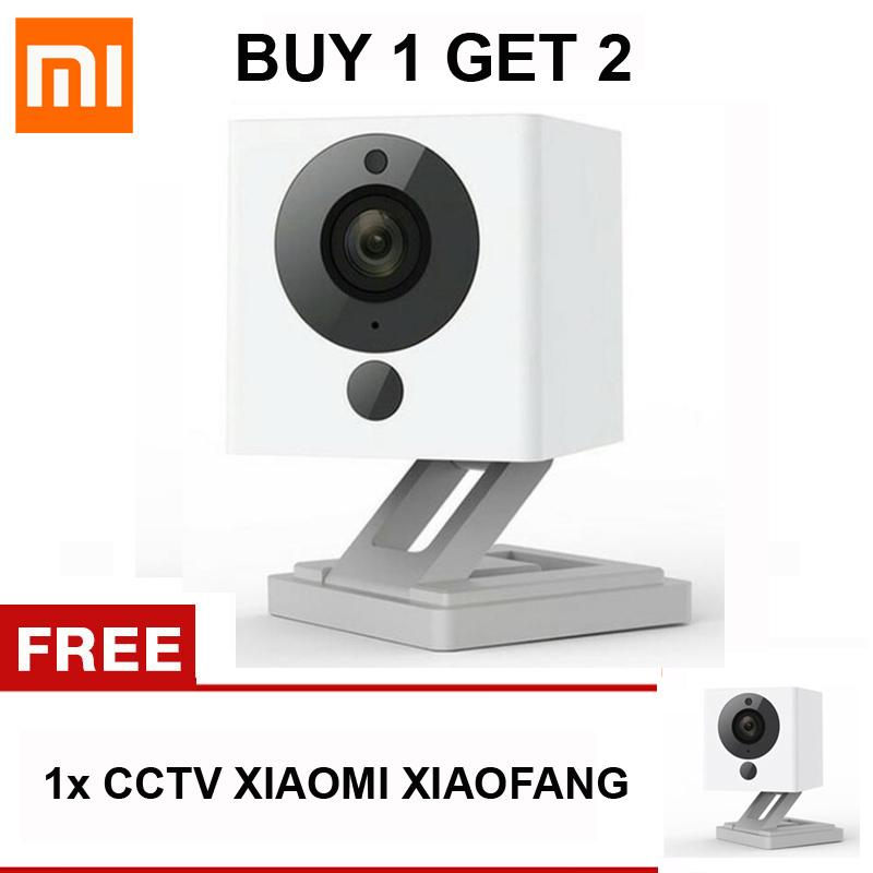 Xioami Xiaofang CCTV Kamera IP Cam Portable Mini Camcorder Night Vision 8X Digital Zoom 1080P Cam WIFI App Control For Home Security BUY 1 GET 1