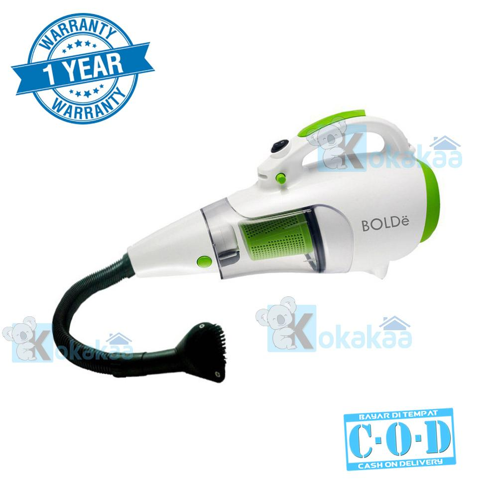 Bolde Turbo Hoover Vacuum Cleaner plus Blower 110 LongHose & Elastic Hose 2 in 1 - Putih