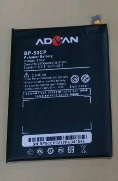 Original Batre Baterai Advan i5E BP-50CP BP50CP BP 50CP