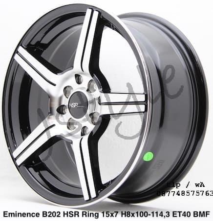 modifikasi velg mobil untuk datsun cross ring 15 eminence hsrwheels