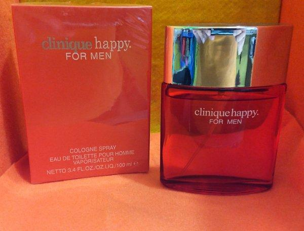 PARFUM PRIA CLINQUE HAPPY  IMPORT ORINGINAL SINGAPORE (REAL PICTURE) EDP 100 ML / BAYAR DI TEMPAT