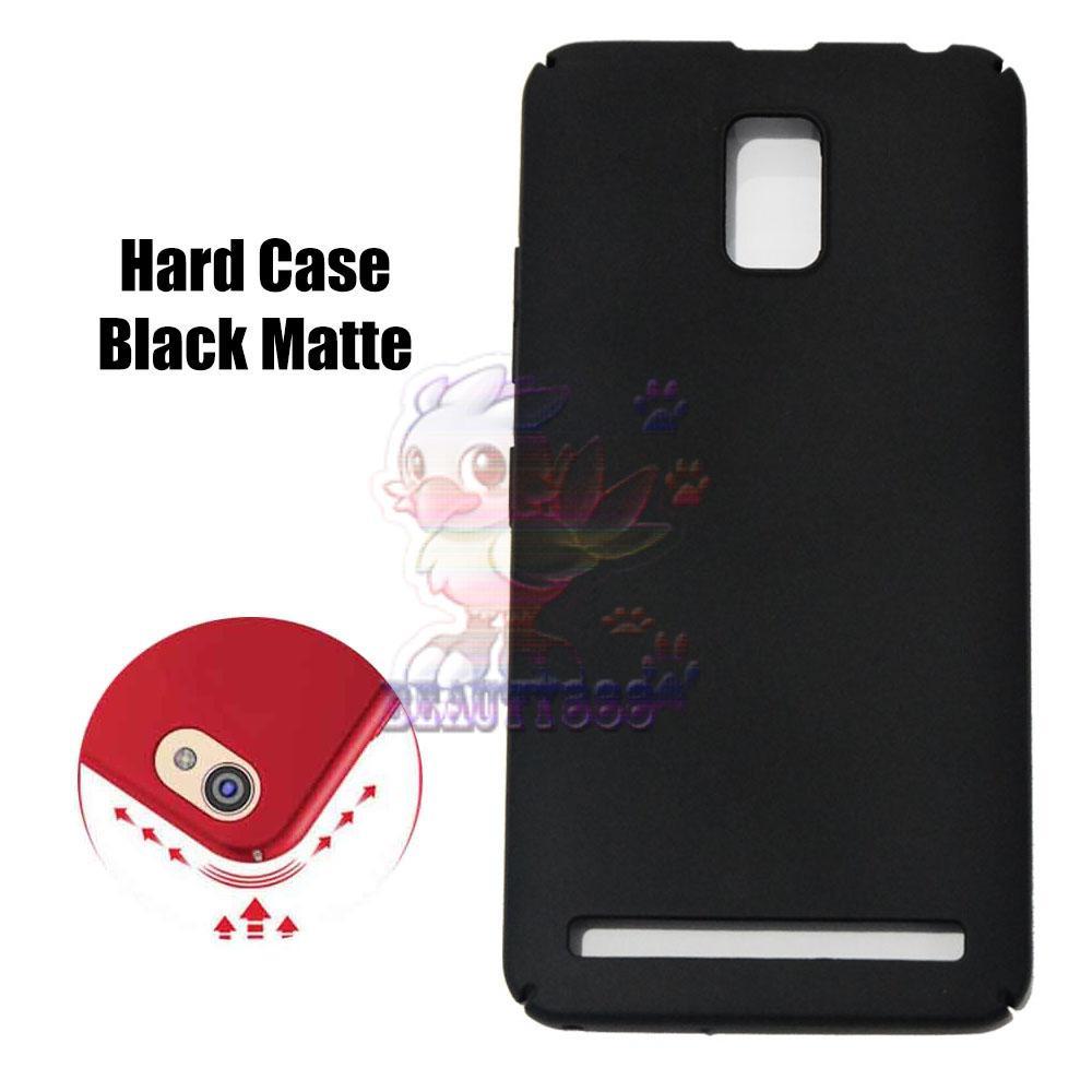 Case Lenovo A6600 Hard Slim Black Mate Anti Fingerprint Hybrid Case Baby Skin Lenovo a6600 Baby Soft Lenovo A6600 Hardcase Lenovo A6600 Plastic Back Cover / Casing Lenovo A6600 / Case Lenovo A6600 - Hitam / Black