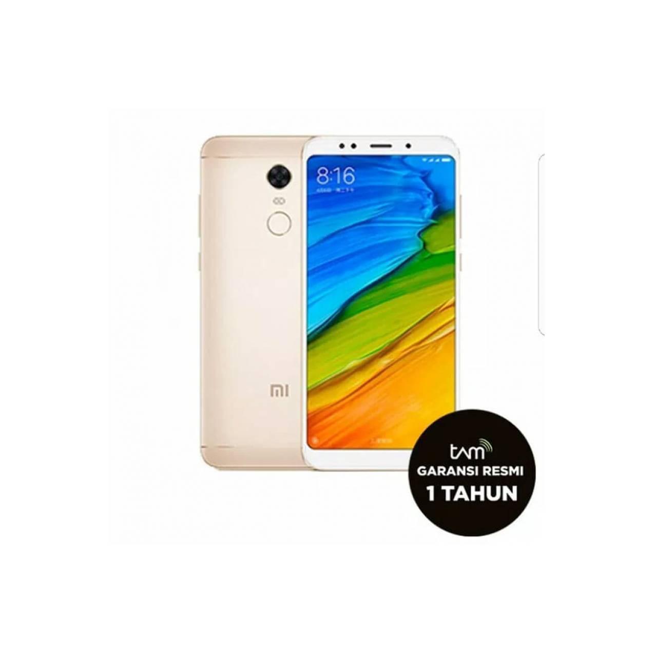 HP XIAOMI REDMI 5 PLUS (XIOMI MI 5 RAM 4/64 GB 64GB) GRS RESMI TAM - Beige  - e20f5e8e9fc89df2c1ec96fa03c92519 - Update Harga Terbaru Hp Xiaomi Mi5 Gsmarena Agustus 2018