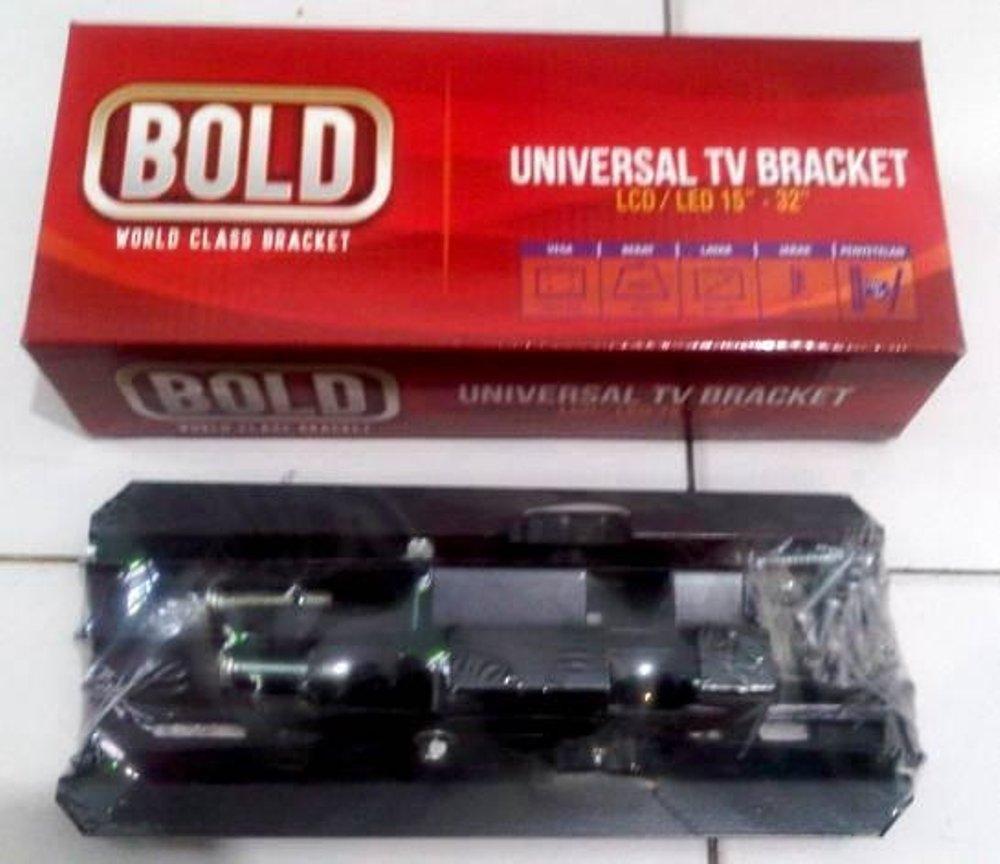 Jual Bracket Dinding Tv Led Ikedo 32amp039 Hitam Bold Lcd Breket Braket 15 32 Inch Smart