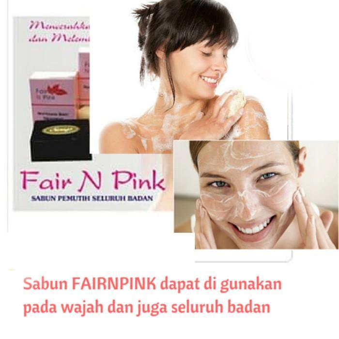 Terlaris Dan Termurah SABUN FAIR N PINK / BRIGHTENING BLACK SOAP ORI POM RESMI