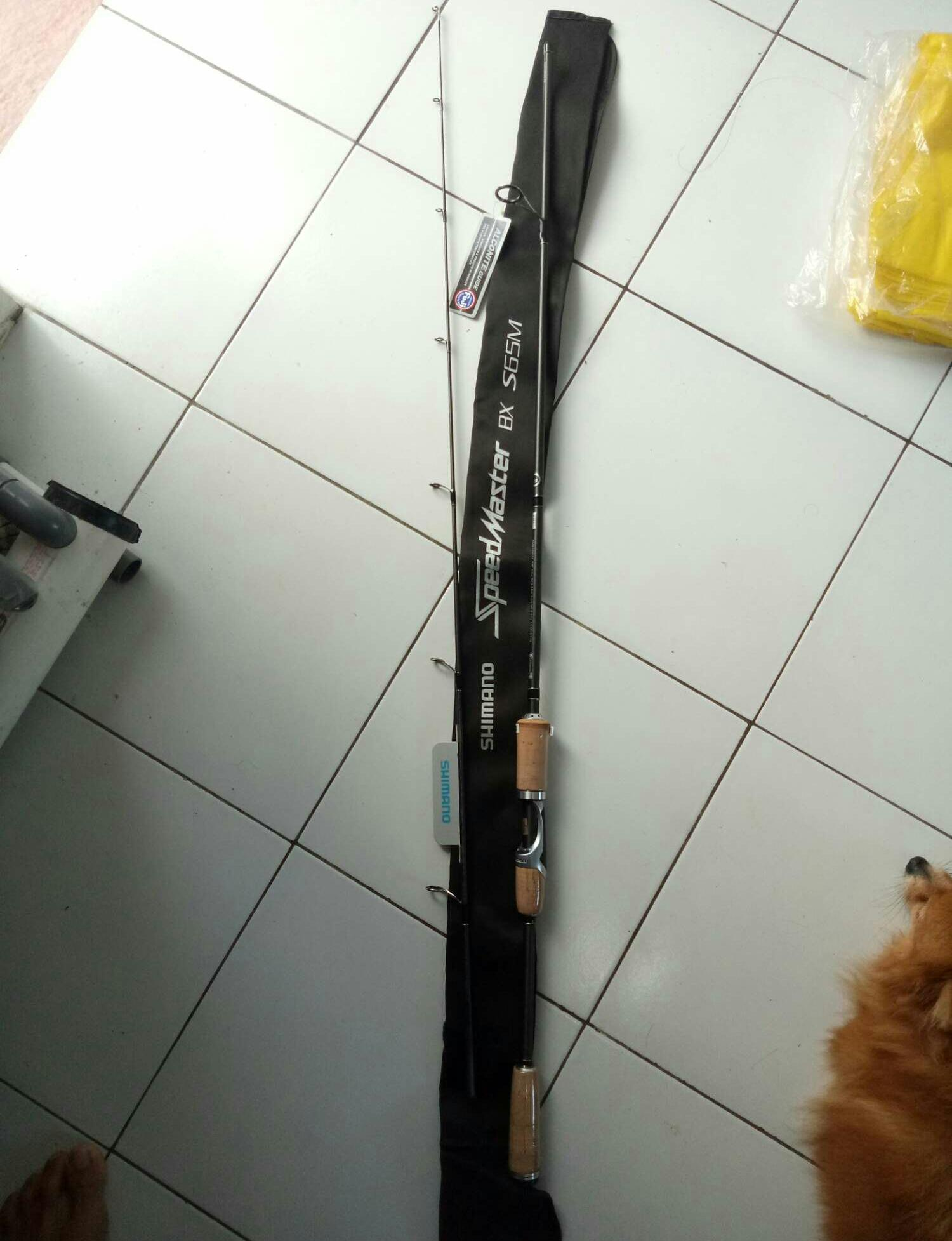 Rod shimano speed master bx s6'6