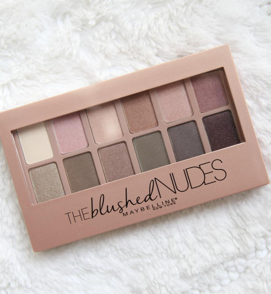 Maybelline The Nudes Palette 100 Ori Daftar Harga Terbaru Dan Mascara Magnum Blushed