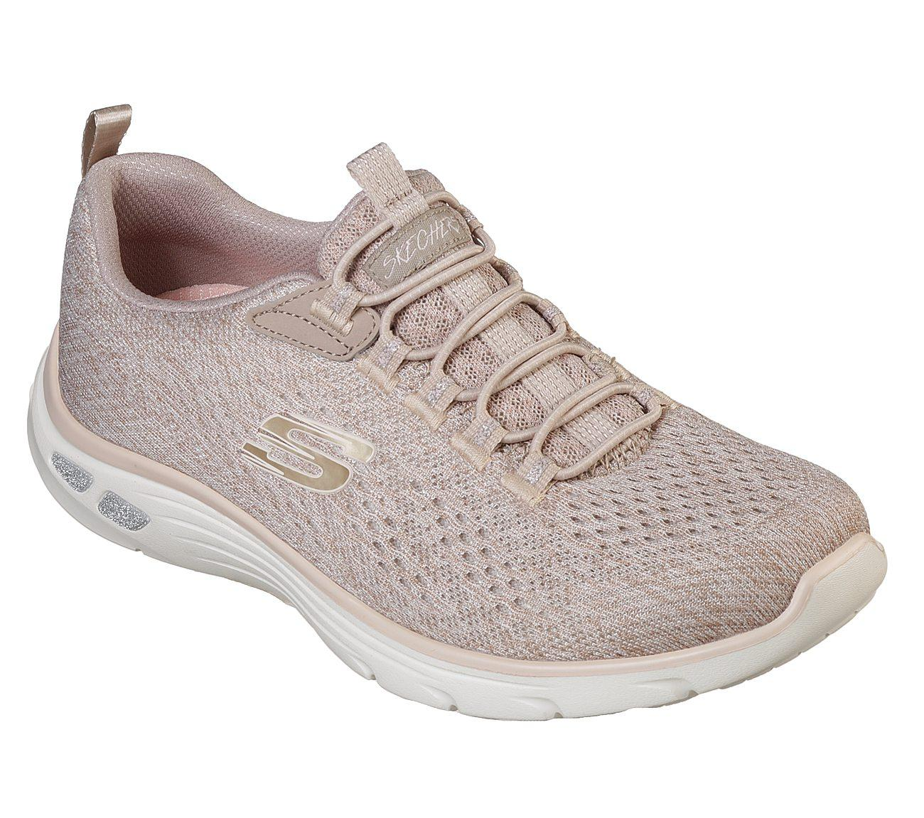 Skechers - Relaxed Fit  Empire D Lux - Lively Wind Sepatu Olahraga Sneakers  Wanita 9559e88a5b