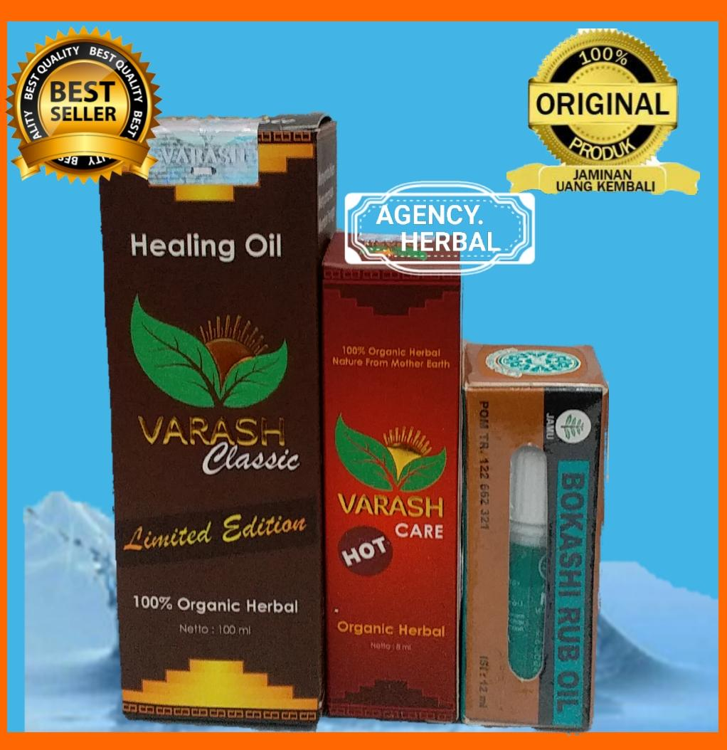 MINYAK VARASH CLASSIC+V CARE HOT +BOKASHI 12ML