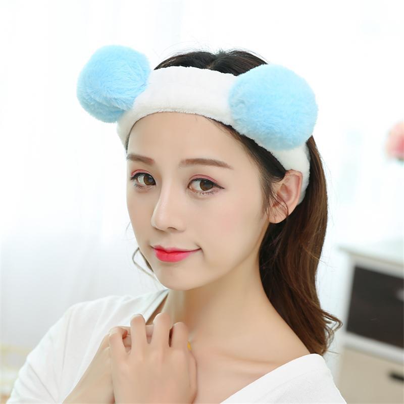 Pencuci muka pita rambut perempuan Dandan Ikat Kepala masker wajah pita pengikat rambut Korea Selatan Hiasan