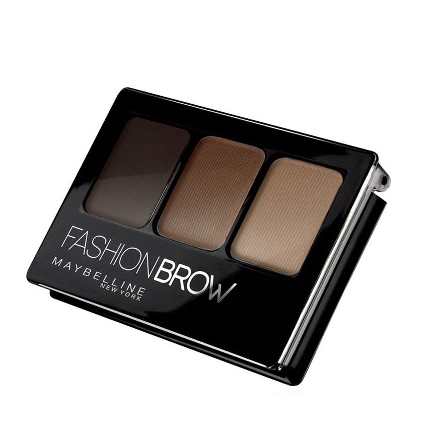 Maybelline Fashion Brow 3D Brow & Nose Palette/Ultra Fluffy Eyebrow Gel Pencil Eyebrow Pencil BR-3