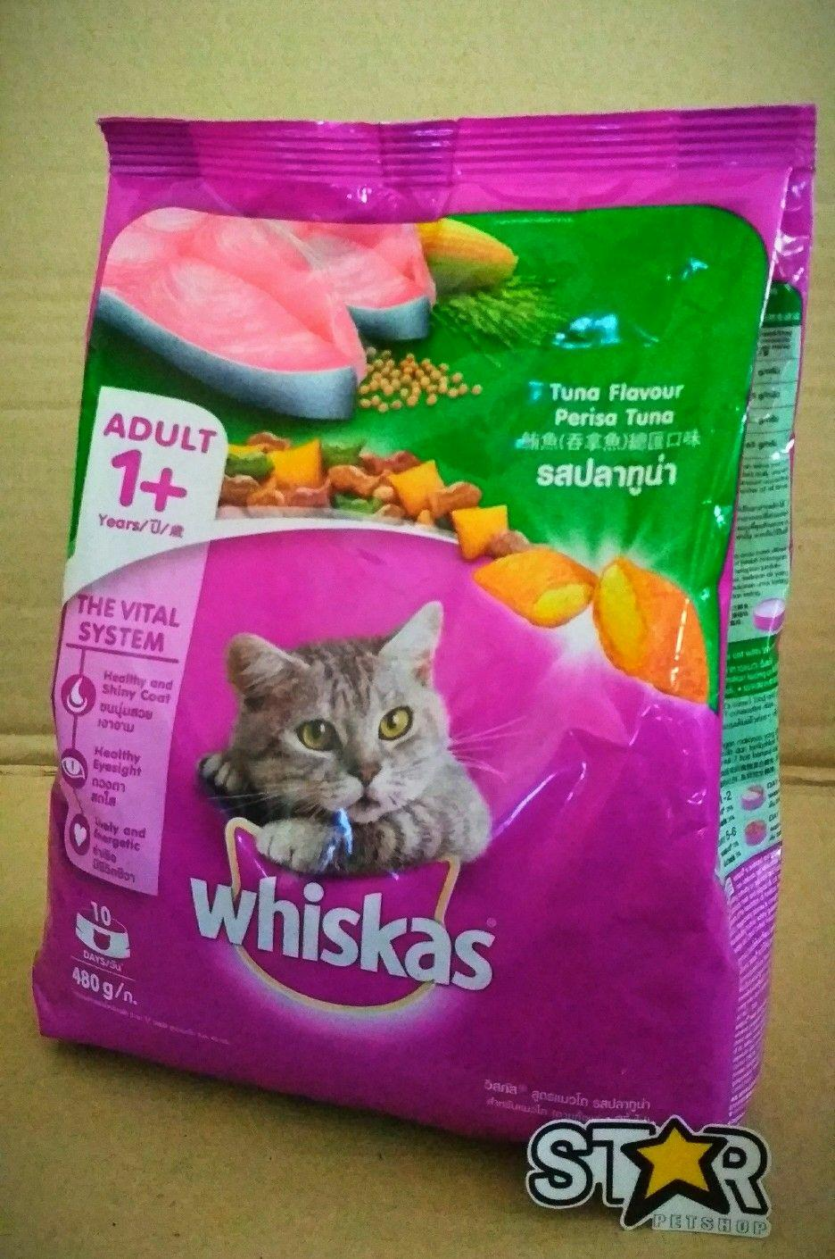 Buy Sell Cheapest Whiskas Tuna 480 Best Quality Product Deals Dry 480gr Makanan Kucing Kering Rasa Adult Fresh Pack