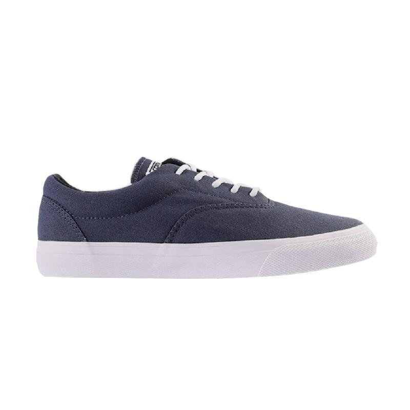 Converse Cons El Valle Ox Men Sneakers Sepatu Skate Pria - Navy [155068C]