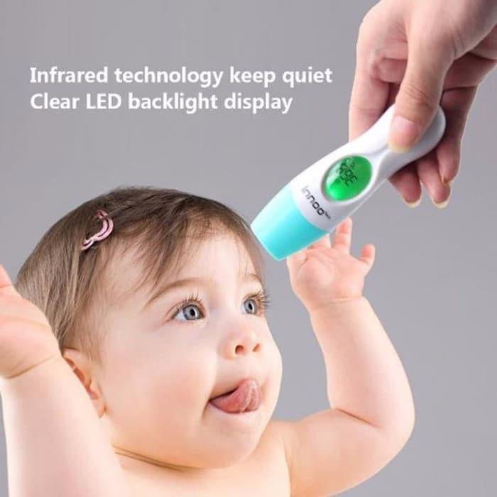 Thermometer / Termometer Digital Infrared Untuk Bayi Atau Dewasa - Alat Pengukur / Tes Suhu Tubuh /