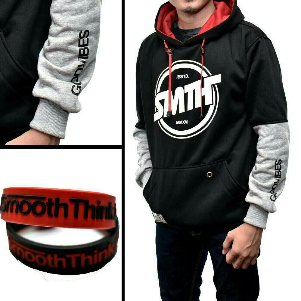 Jaket Hoodie Pria Terbaru Terlengkap Sweater Flava Ori Smoothink Bullet