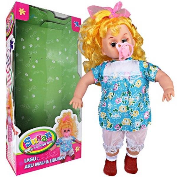 NECA Boneka Bayi Susan Bisa Suara Menangis Tertawa Mama Papa  Baby Doll    Lovely Baby d95bd13ae3