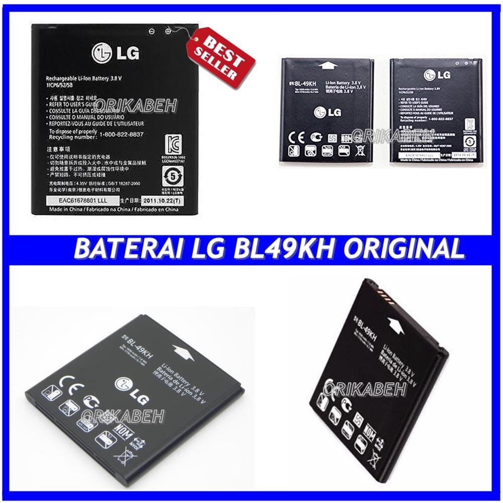 LG Baterai / Battery LG BL49KH For LG Optimus LTE / P930 Original- Kapasitas 1850mAh ( ori ori )