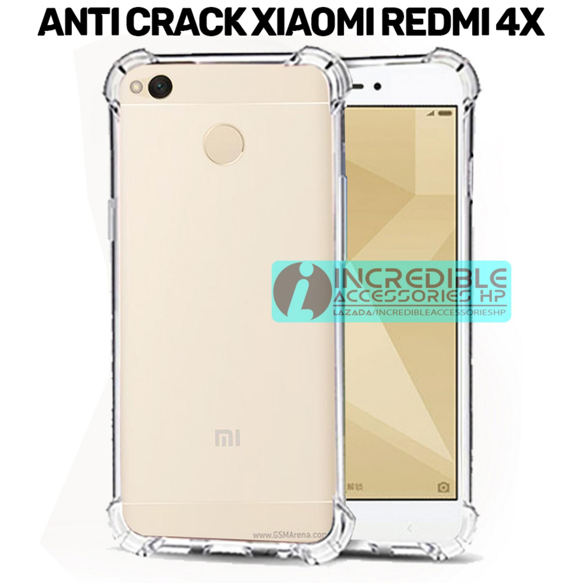 Case Anti Shock / Anti Crack Elegant Softcase for Xiaomi Redmi 4x - White Clear