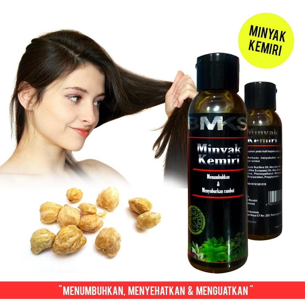 Minyak Kemiri BMKS Natural BPOM Original - Black Magic Kemiri Natural Candlenut Oil BPOM Ori
