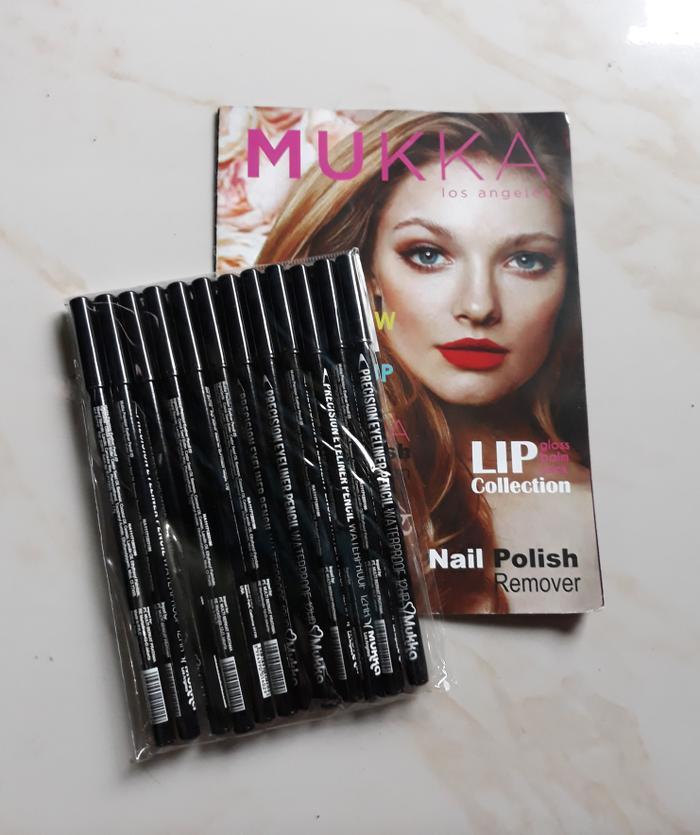 Pensil Garis Mata/ Pensil Eyeliner Praktis/ [HITAM] MUKKA PRECISION EYELINER PENCIL BLACK / EYE LINER PENSIL
