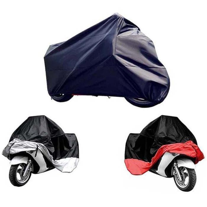 promo Cover Sarung Pelindung Motor Size XXL - Black/Red olx