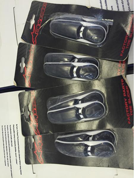 Toe Slider / Slider Sepatu Boots Alpinestars Smx Plus