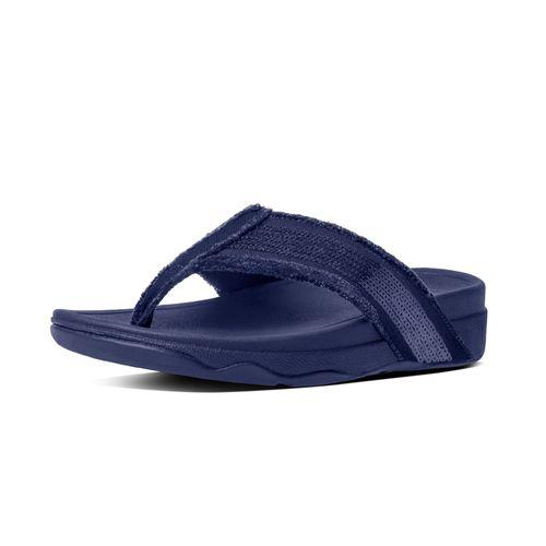 Fitflop Surfa Sequin, Supernavy, Footwear, Womens