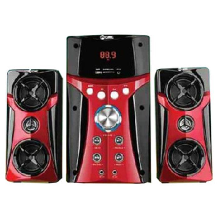 GMC 887B Multimedia Speaker Aktif 2.1Ch - Karaoke, USB, MMC, FM Radio