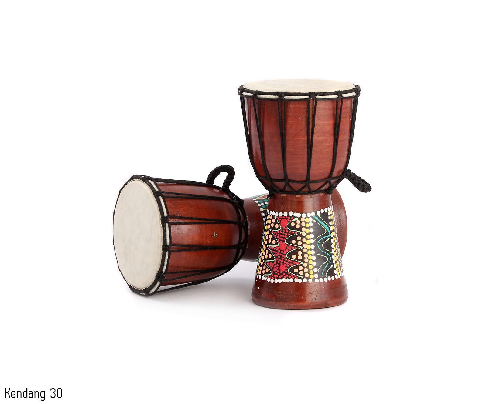 Mainan Anak Tradisional Alat Musik Kendang Jimbe Painting