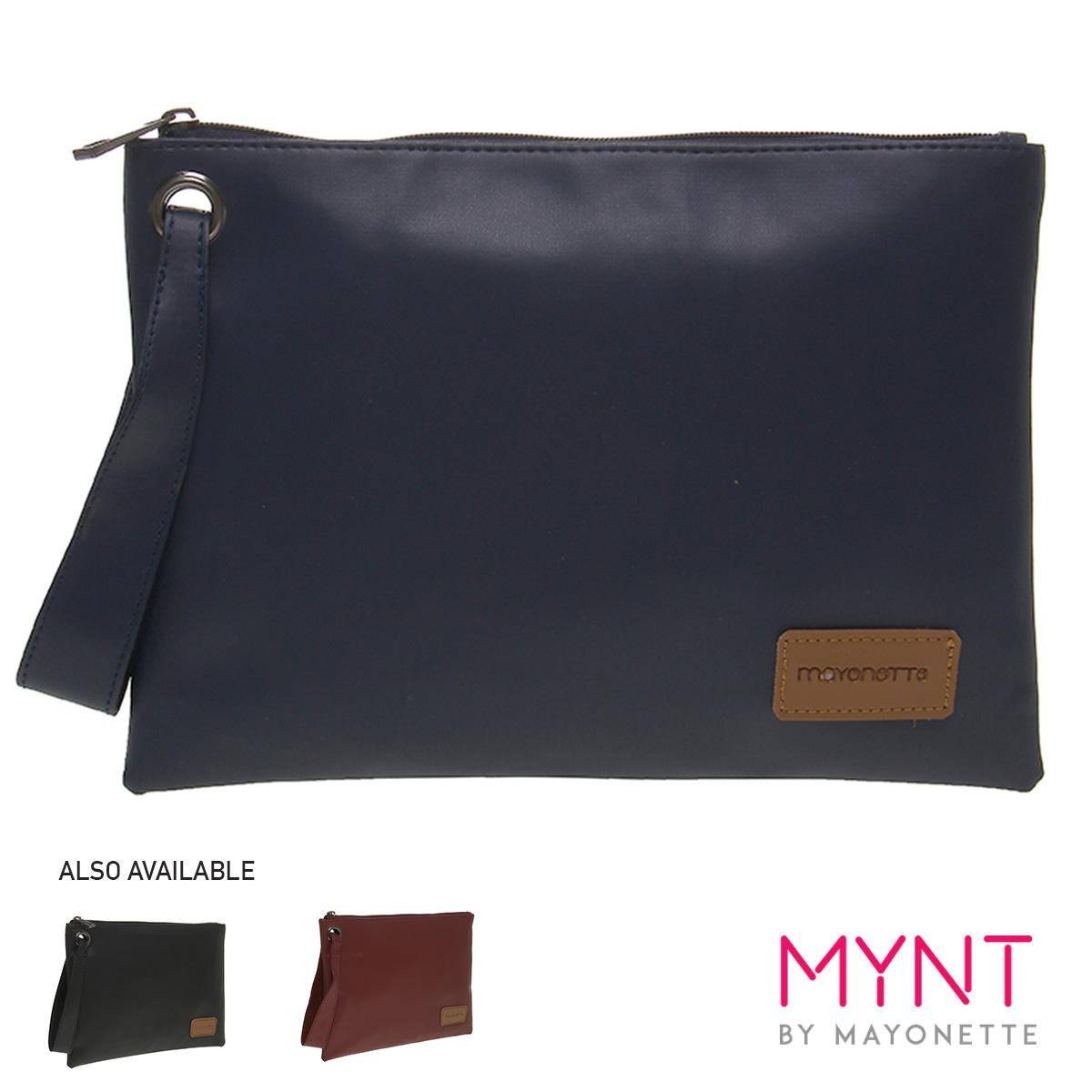 MYNT by Mayonette Dompet Korean Style Wanita & Pria Casual Simple Pouch Solla Clutch
