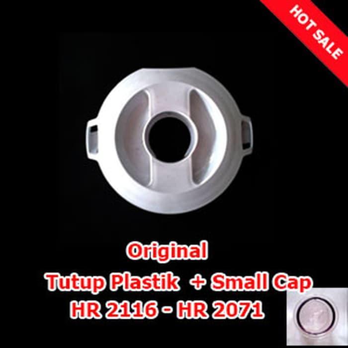 Super Hot! Indoshopi Sparepart Tutup Plastik + Small Cap Blender Philips HR 2116 -2071 Asli Baru!