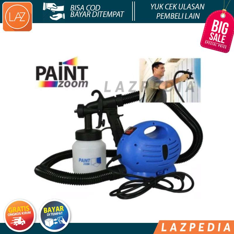 A81 - Cod/byr Ditempat - Spray Gun Listrik Mesin Semprot Cat Model Paint Zoom / Paint Gun Paint Spray Paint Zoom Spray Gun - L2n2 By Lazpedia.
