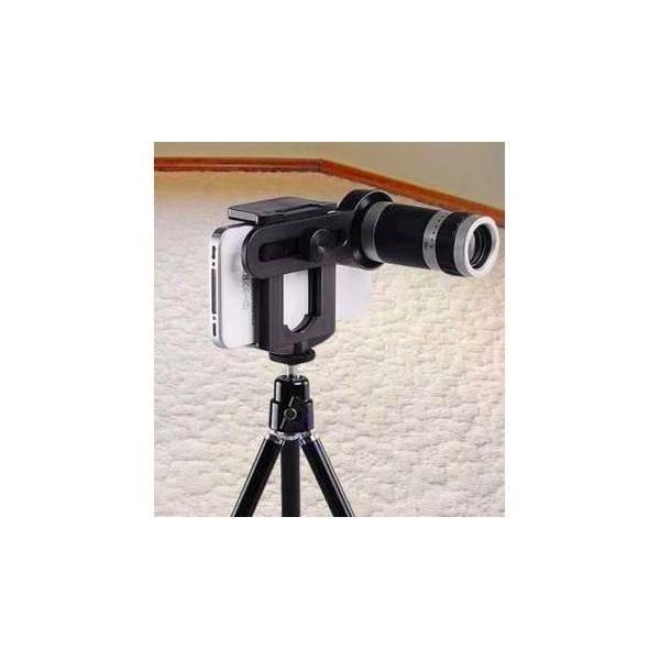 Hot Promo LENSA KAMERA HP Telezoom 8X Jepit TRIPOD Perlengkapan Kamera