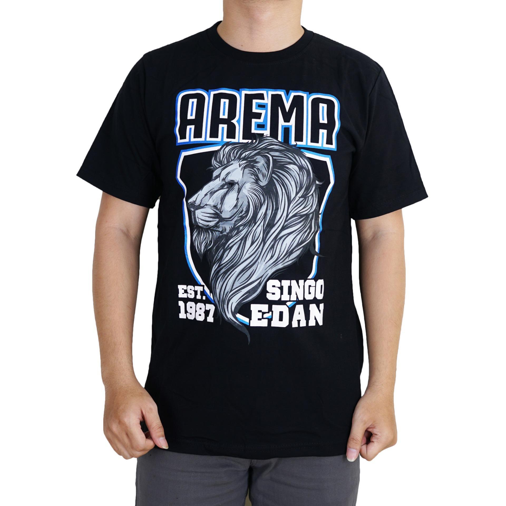 Vanwin – Kaos T-Shirt Distro / kaos Pria / Tshirt Pria / Distro Pria / Baju Pria Premium Football Arema Medan – Hitam