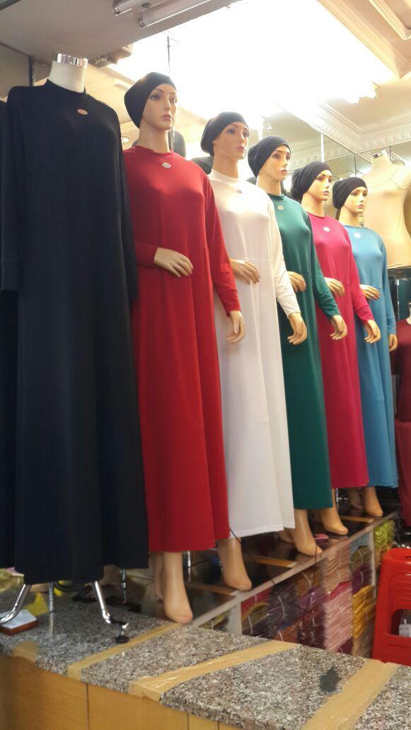Eva Collection - Gamis Wanita Bahan Jersey Korea