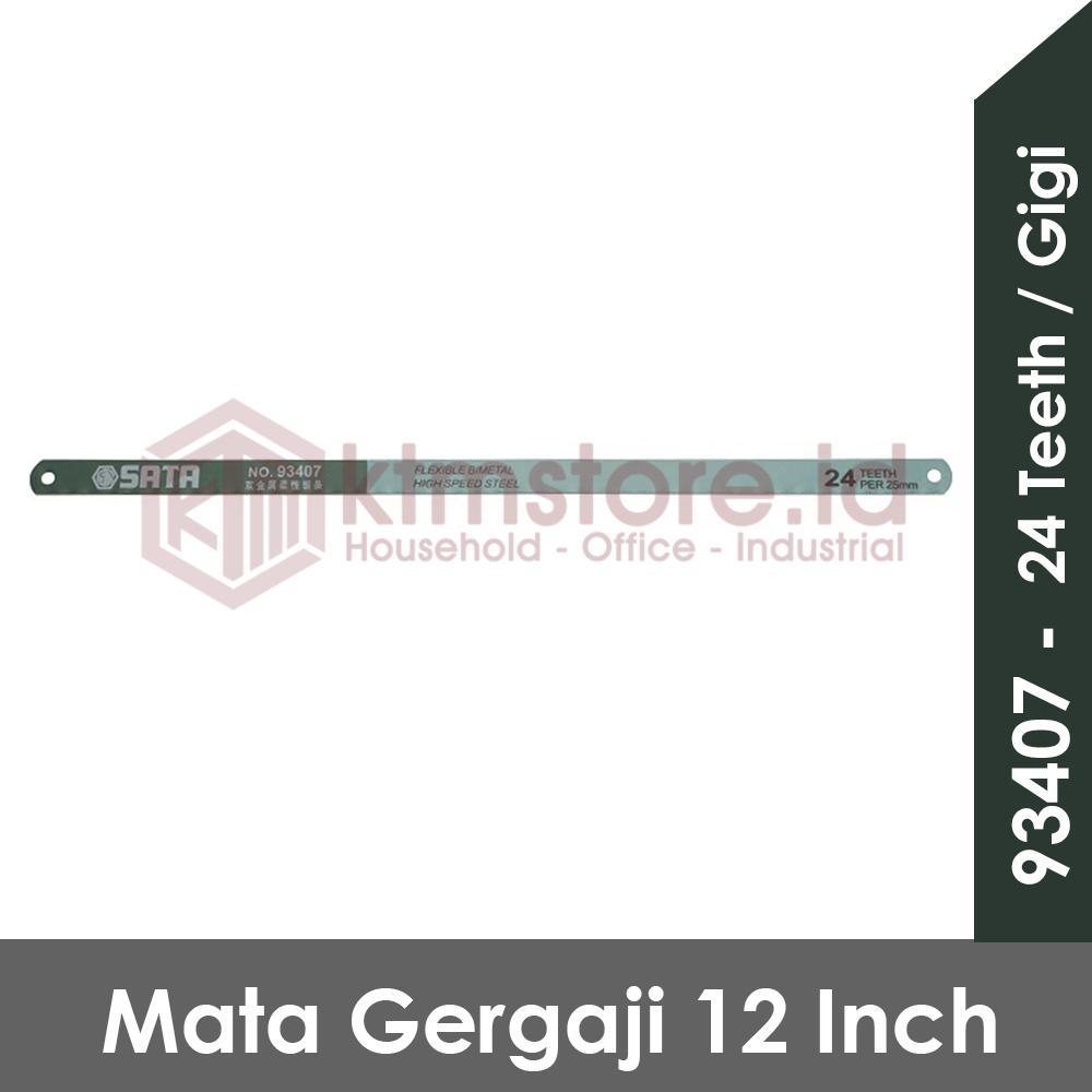 SATA TOOLS Mata Gergaji 24 Tooth Bi-metal Hacksaw Blade 93407