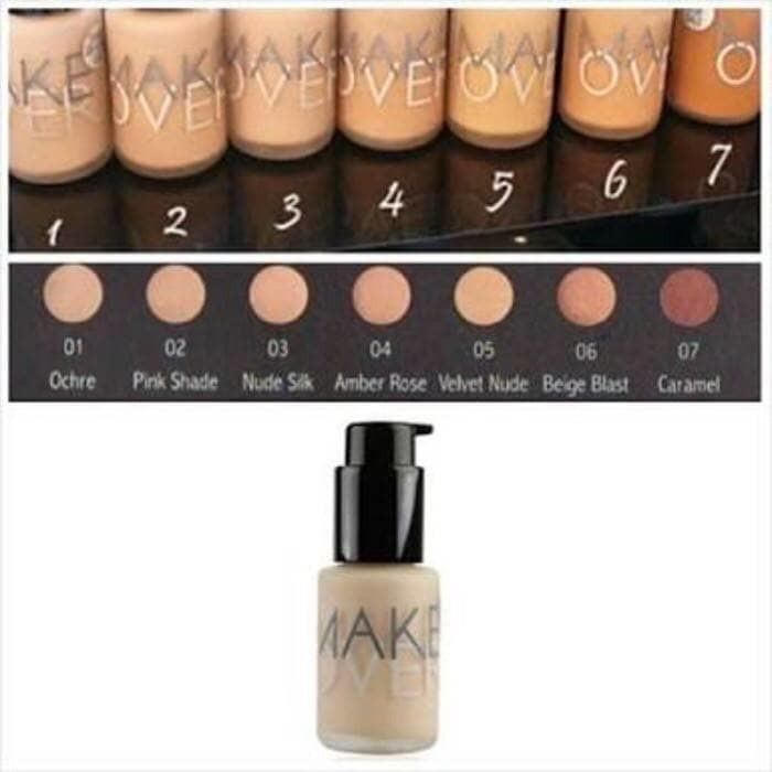 MAKE OVER ULTRA COVER LIQUID FOUNDATION - FOUNDATION MAKEOVER