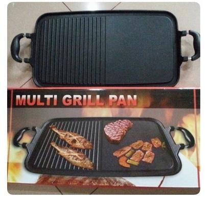 ORIGINAL!!! alat Plate Panggangan Sate Ayam Steak Jagung Ikan Sosis Tanpa Arang - BibFSc