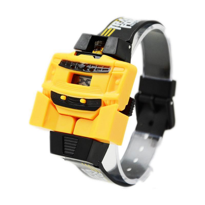 [1030040166] Bumblebee Transformer Jam Tangan Anak