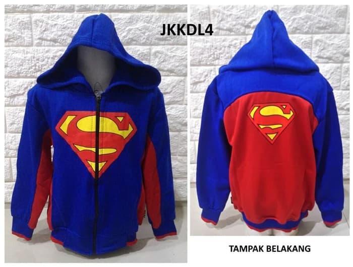 Jaket Anak Laki Superman Logo JKKDL4