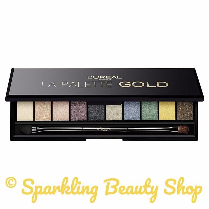 L'Oreal Paris La Palette Gold - Eyeshadow Palette Bestseller