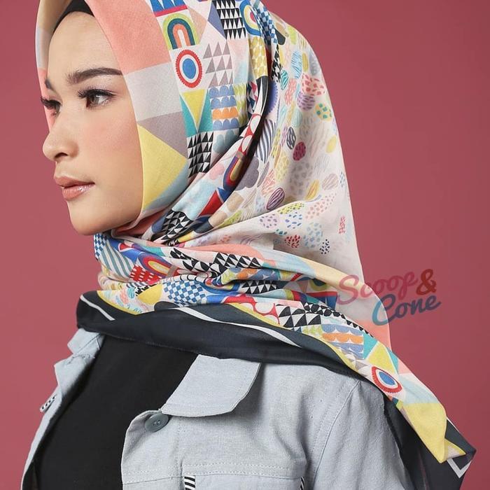 HIJAB VOAL BY SCOOP&CONE (MONEL) MECCA / JILBAB BANDUNG / alat shalat / mukena / sajadah / sarung / pakaian muslim / perlengkapan shalat / hijab / hijab terbaru 0a146