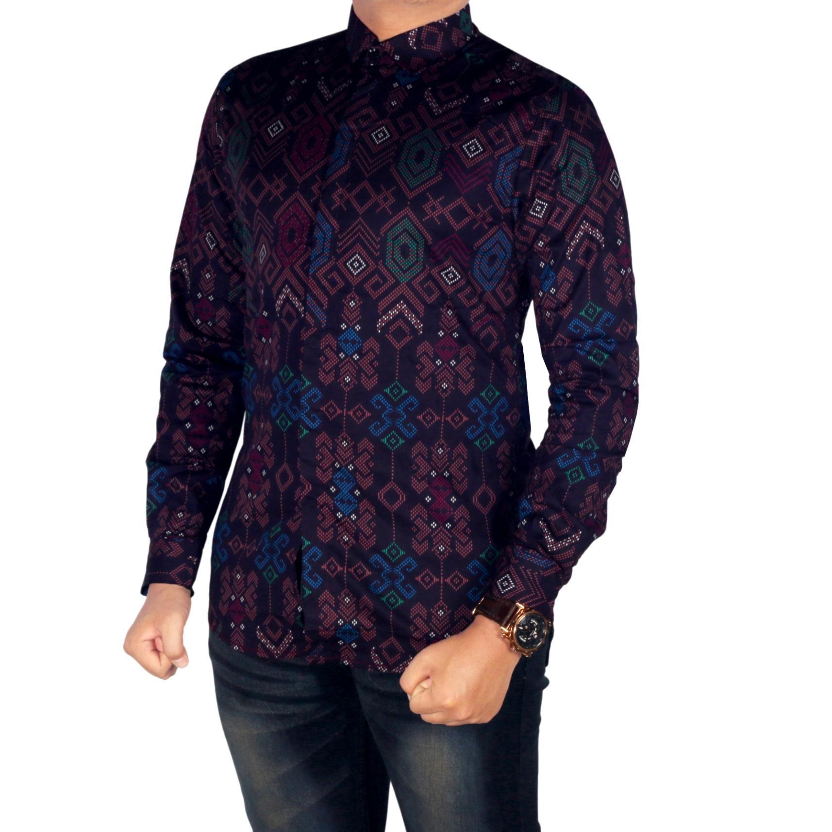 Dgm_fashion1 kemeja Pria lengan Panjang Batik Songket/kemeja pria/baju kemeja pria/kemeja flanel/kemeja pria flanel lengan panjang/kemeja pria polos/kemeja lengan pendek/ BAJU KOKO PRIA / BAJU MUSLIM PR 4814 5506 5387