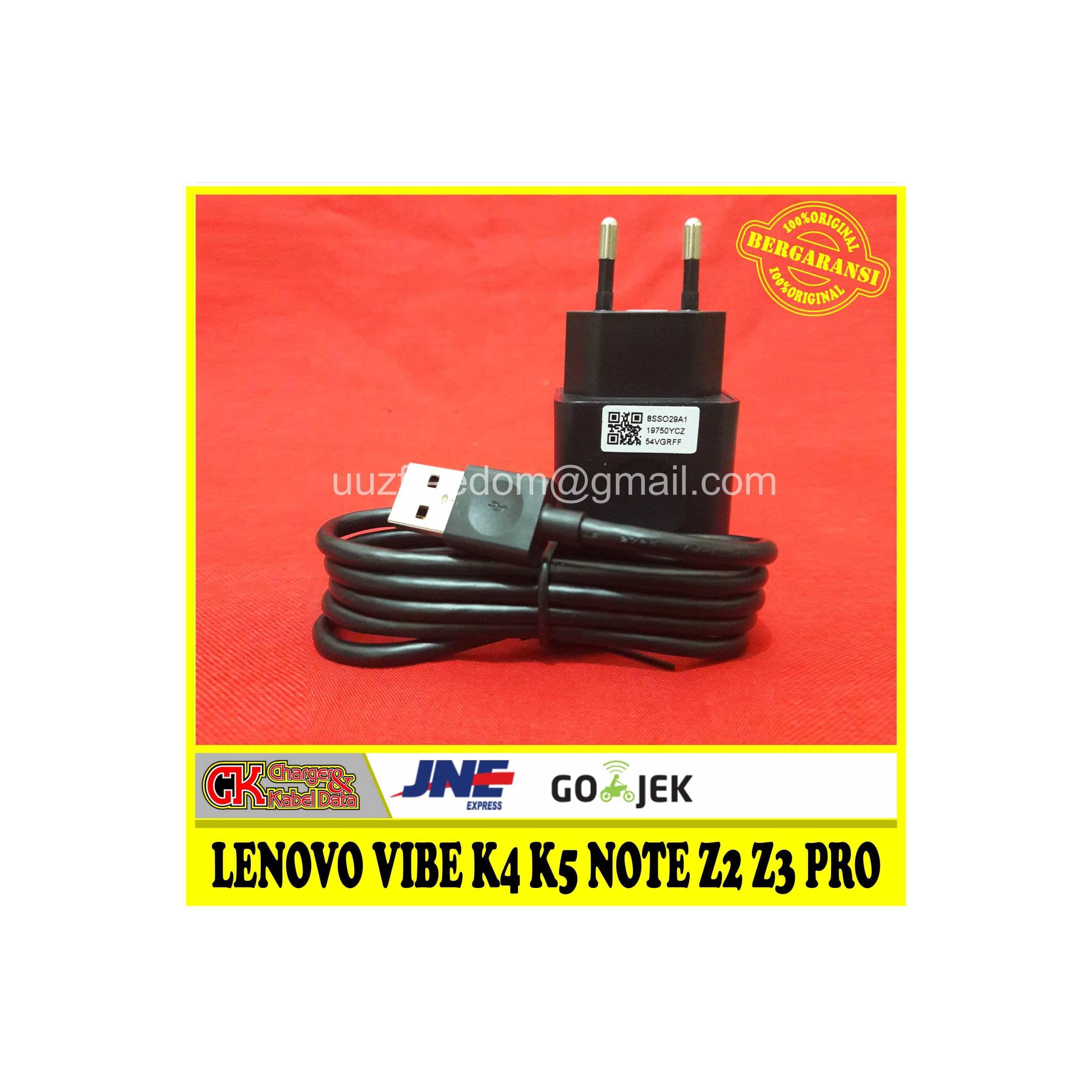 Charger LENOVO VIBE K4 K5 NOTE Z2 Z3 Pro ORIGINAL 100% 5V-2A (C-P32)