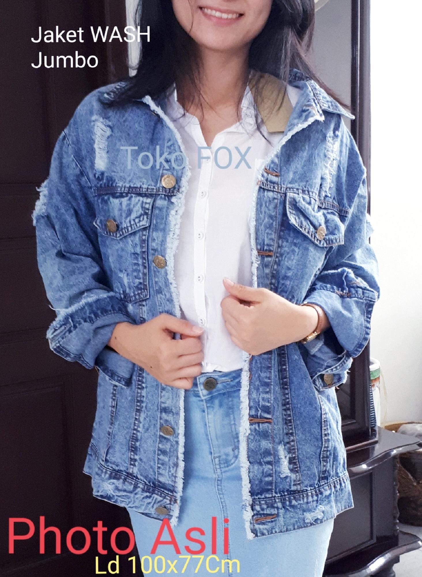 Buy Sell Cheapest Jaket Jeans Sobek Best Quality Product Deals Pria Biru Muda Wash Wanita Photo Asli Jacket