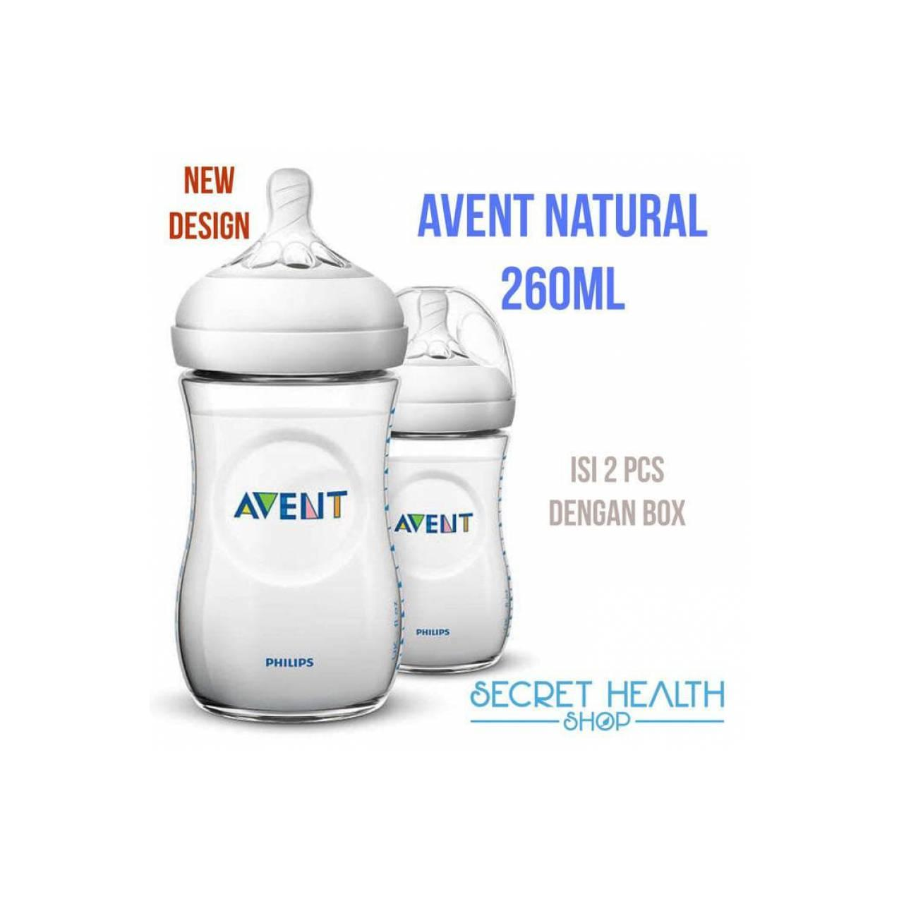 Buy Sell Cheapest Philips Avent Original Best Quality Product Natural 125ml Isi 2 Botol Susu 260 Ml Pcs Dot Bayi