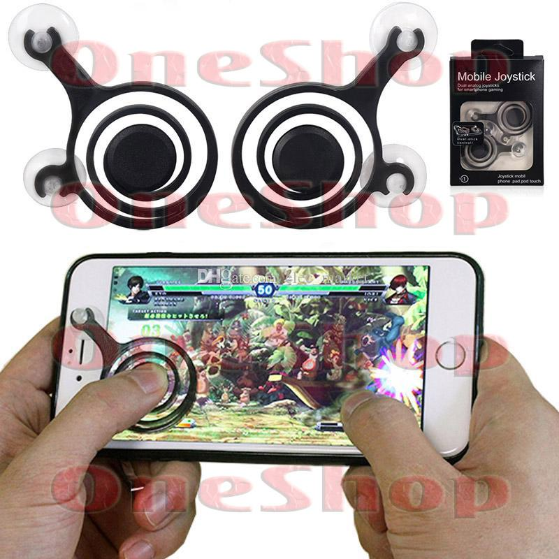 One Shop Joystick Dual Analog 2 pcs High Quality Gadget Controller Gaming Game Pad Touch Screen
