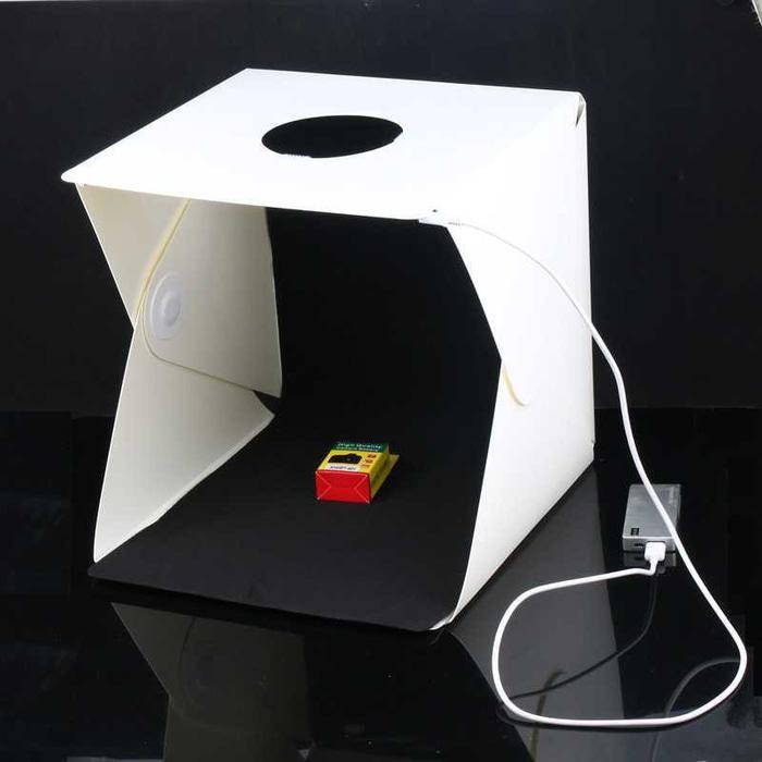 Photo Studio Mini Magnetic dengan Lampu LED M