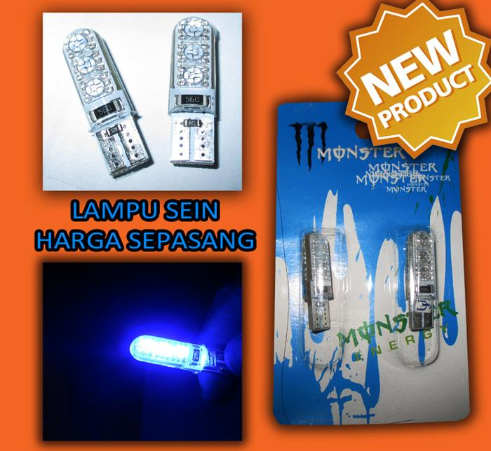 Lampu LED Sein Colok Sen Rem Senja Kedip Variasi Motor